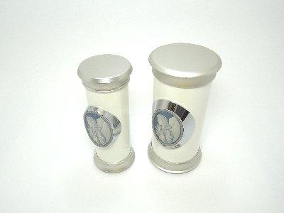 小さなデザイン骨壷(骨壺)【sorea(ソレア)】Lサイズ 割れない密封式防水骨壷